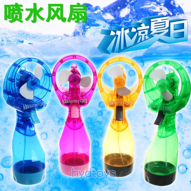 72pcs/lot DHL Free Handheld Water Spray Fan Portable Mini Fashion Water Spray Cooling Fan Cool Summer(China (Mainland))