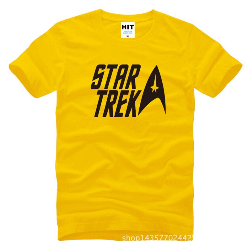 classic movie Star trek Printed Mens Men T Shirt Tshirt Fashion 2015 New Short Sleeve O Neck Cotton T-shirt Tee Camisetas Hombre  HTB1xenOKXXXXXXgXFXXq6xXFXXX5