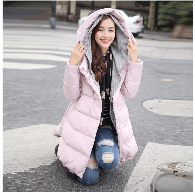 Скидки на 2016 Зима Женщины Пальто Куртка Повседневная Верхняя Одежда С Капюшоном Пальто Женщина Одежда женские Зимние для Женщин