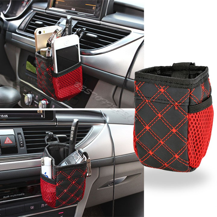 1pcs High Quality Style Car Storage Multi Pocket Auto Bags Hang Pocket Arrangement Bag Storage Pouch 50(China (Mainland))