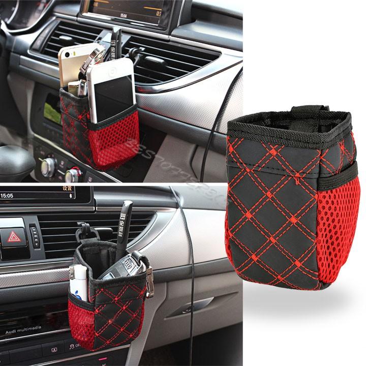 1pcs High Quality Style Car Storage Multi Pocket Auto Bags Hang Pocket Arrangement Bag Storage Pouch 50(China (Mainland))