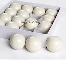 "Hot Sale 57.2mm White Billiard 2 1/16"" Cue Ball Snooker Pool Table Training Spot Cue Ball 2 Diameter 1/4"" Nine-ball Cue Ball(China (Mainland))"