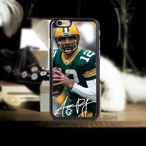 Funny 1PC Green Bay Packers Aaron Rodgers Cases for iphone4 i4s i5 i5s i5c and i6 i6 Plus(China (Mainland))