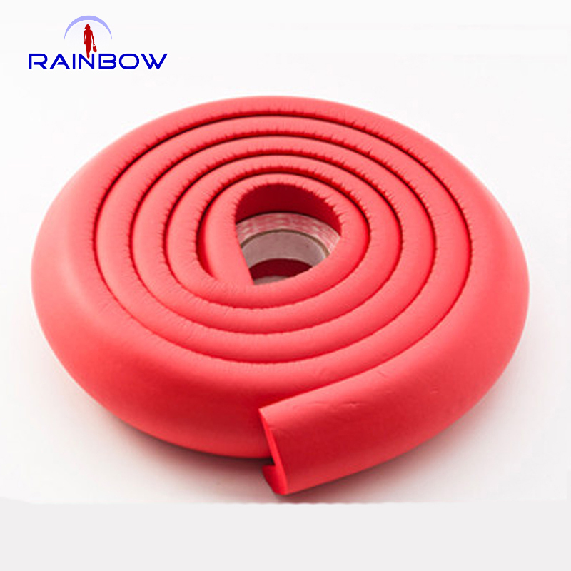 Wholesale Baby Kids Edge Corner Guards 2 meters Infant child bumper strip crash bar Thickened protective 3m tape(China (Mainland))