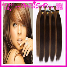 PU/Glue Skin Weft Tape Brazilian Remy Human Straight Hair Extensions 2.5G/Piece 40Pcs/Pack 300G/LOT In STOCK Free Shipping