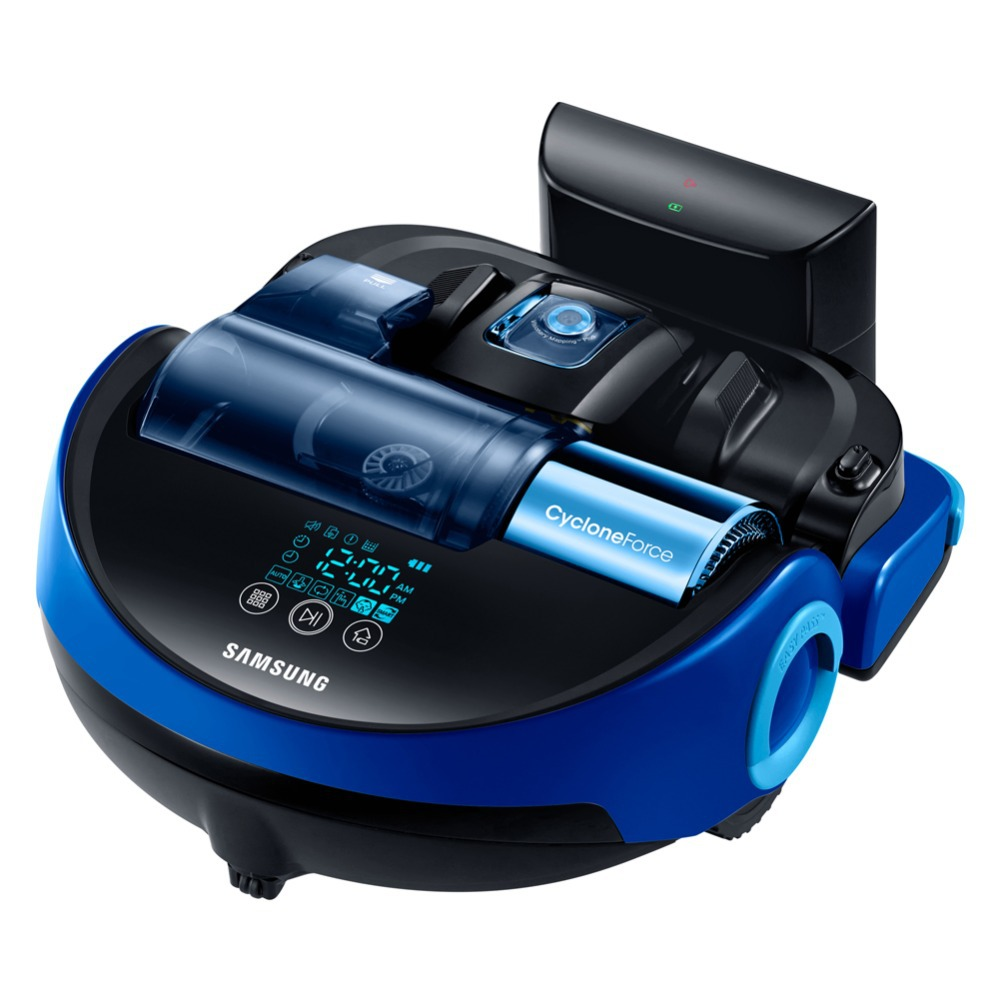 Samsung POWERbot VR20H9030UB Robotic Power Vacuum Cleaner Cyclone AC100~240V English Manual via Express(China (Mainland))