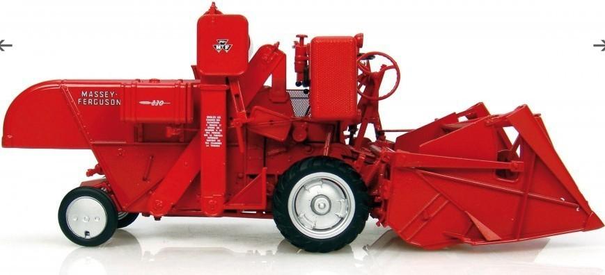 UH 2880 1:32 Massey Ferguson 830 tractor Ferguson Mercedes Alloy FM