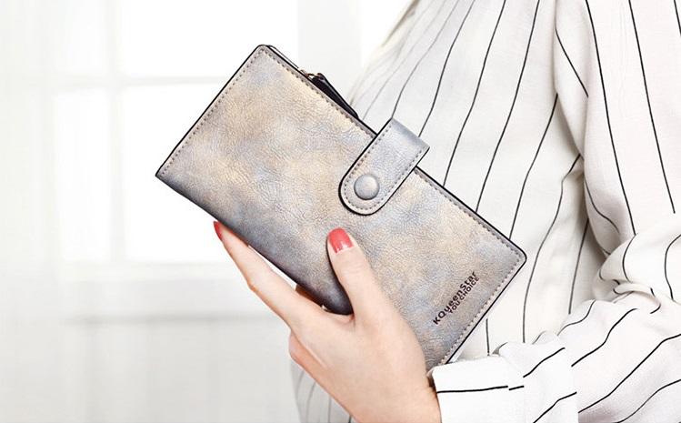 2016 Women's Matte Pu Leather Wallets new fashion Hasp clutch lady Long purse Handbags Card Holders Bag carteira feminina 349(China (Mainland))
