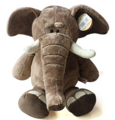 2016 18cm Size New Arrival Elephant Plush Toys Christmas Gift Stuffed Soft Toys #10(China (Mainland))