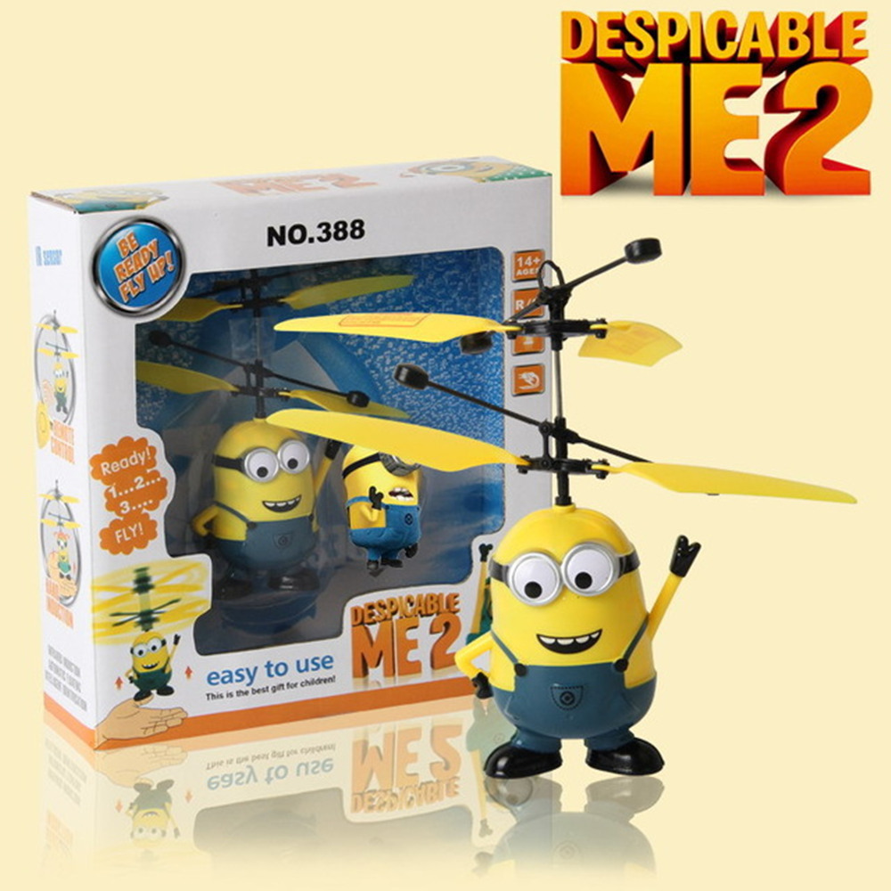 Upgrades Package !Remote Control RC Helicopter Flying Despicable Me Minion Quadcopter Drone Ar.drone Kids Toy VS Fairy Doll x5c(China (Mainland))