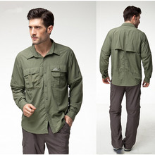 Topsky outdoor Hiking fishing shirt Removable sleeves multicam tropic dress shirts short sleeve shirt casual shirt