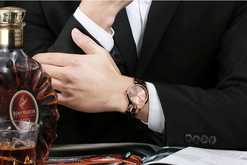 Роскошные Кварц Мужчины Смотреть Мода Вольфрама Группа Часы 50 М Водонепроницаемый Подарков Повседневная Часы Мужчины Наручные Часы Часы Relógio С Коробкой