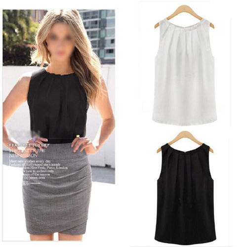 1 ШТ. Мода HOT Простой мода женщины лето рукавов повседневные майка рубашка блузка ...