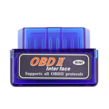 Mini ELM327 OBD2 Bluetooth Auto Scanner for Android Torque OBDII Car V2.1 Vehicle Diagnostic Interface Scanner drop shipping(China (Mainland))