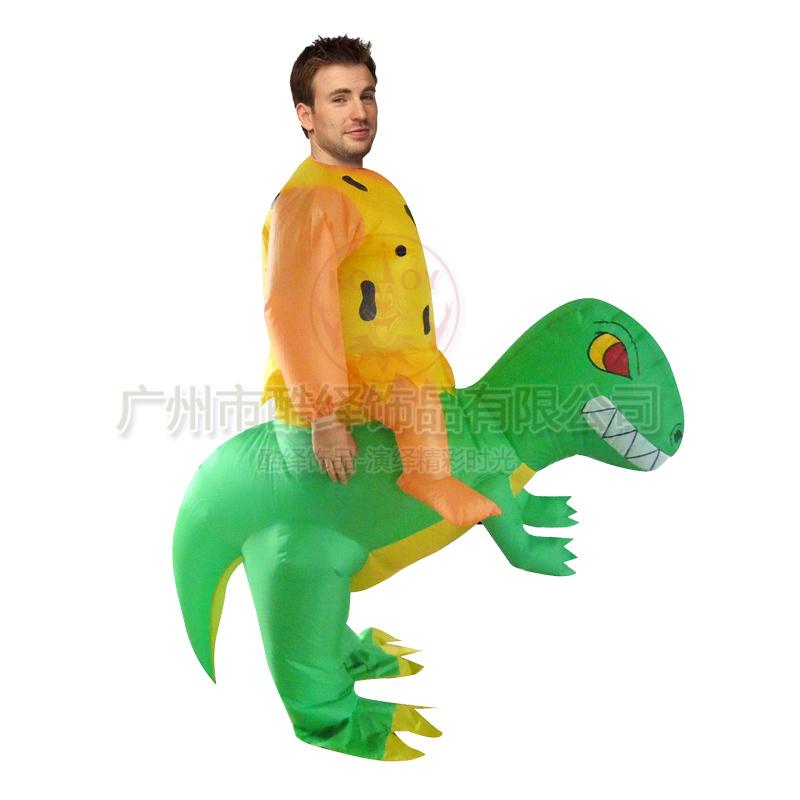 déguisement homme dinosaure