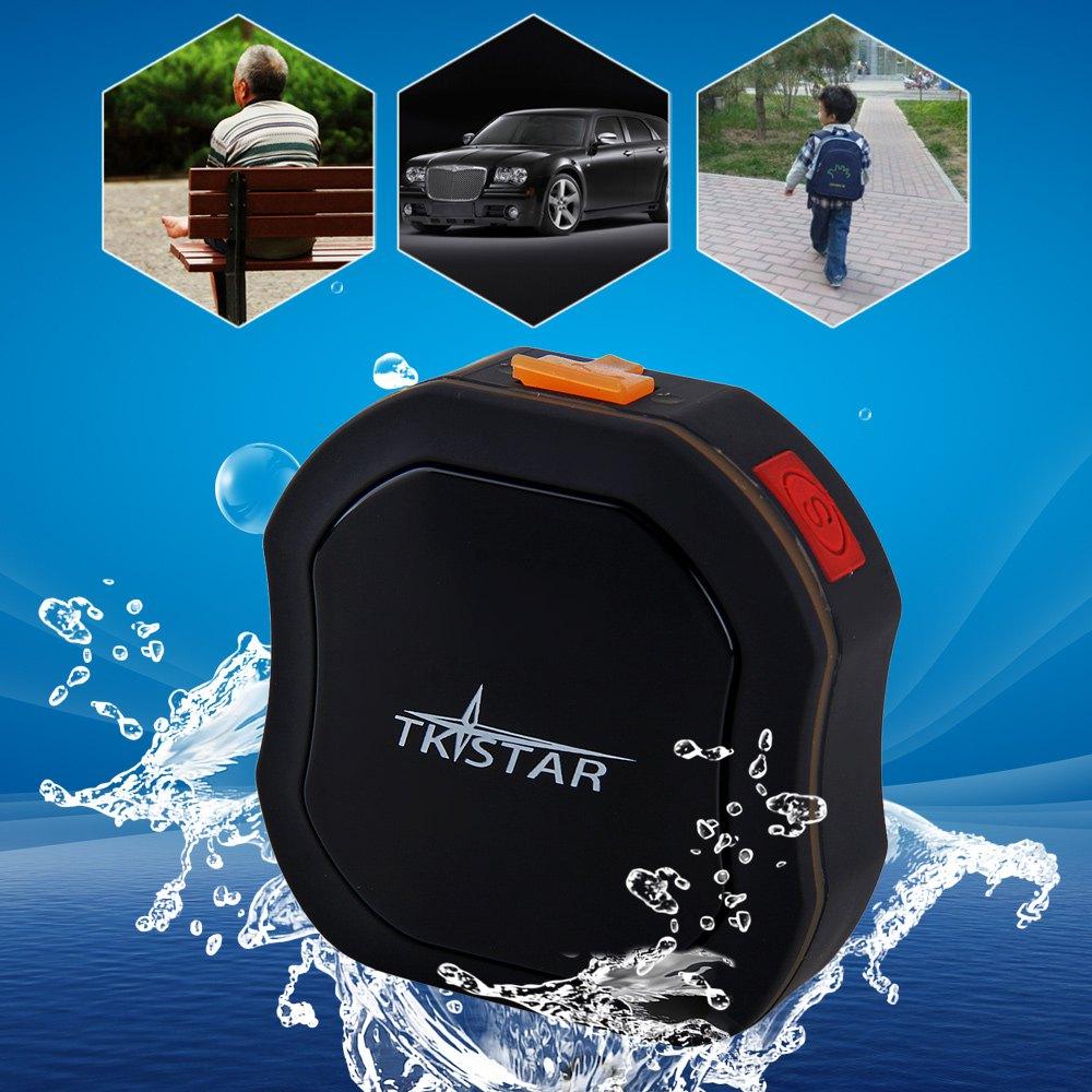Car Tracker TK STAR Waterproof Mini Auto GSM GPS Tracker with SOS Communicator Emergency Help for Children Pets Vehicles EU Plug(China (Mainland))