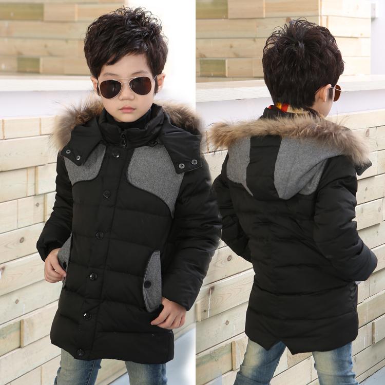 Здесь можно купить  Kids Zhongshan University boys down jacket and long sections thicker Korean version of the children wear jackets are brand  Детские товары