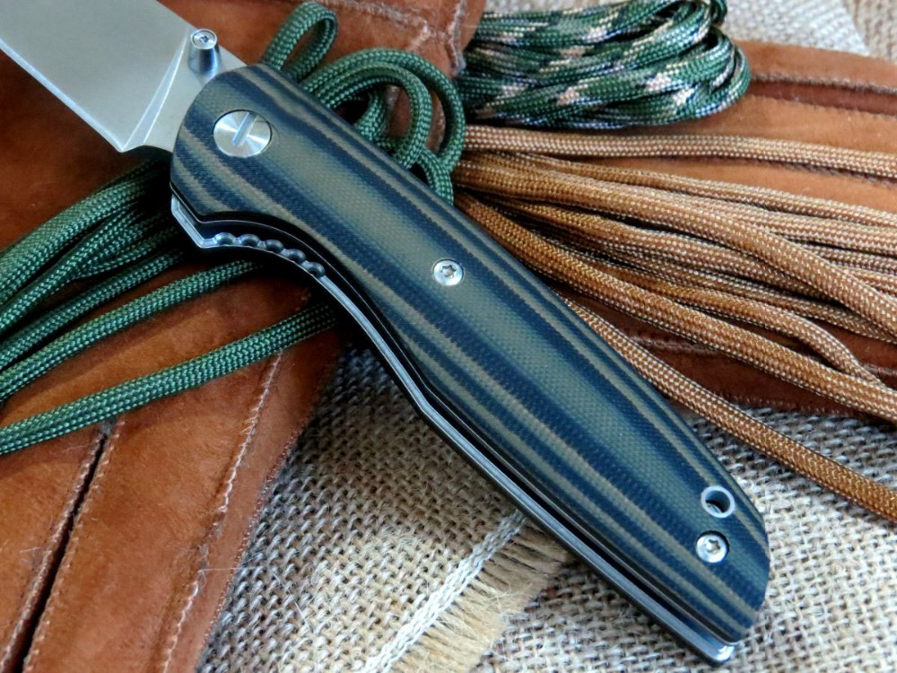 Buy Popular EDC Tool F33 Bearing folding knife D2 blade G10 handle Outdoors camping hunting pocket fruit knives cheap