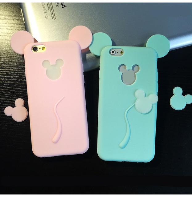 Case iPhone 5/5S/6/6S/6Plus/6SPlus Mickey Mouse różne kolory