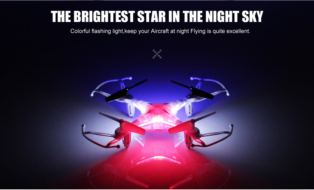 Original SYMA X13 Air 2.4G 4CH 6Axis RC Quadcopter Mini Drone With 2MP HD Record Video Camera Helicopter RC Toy