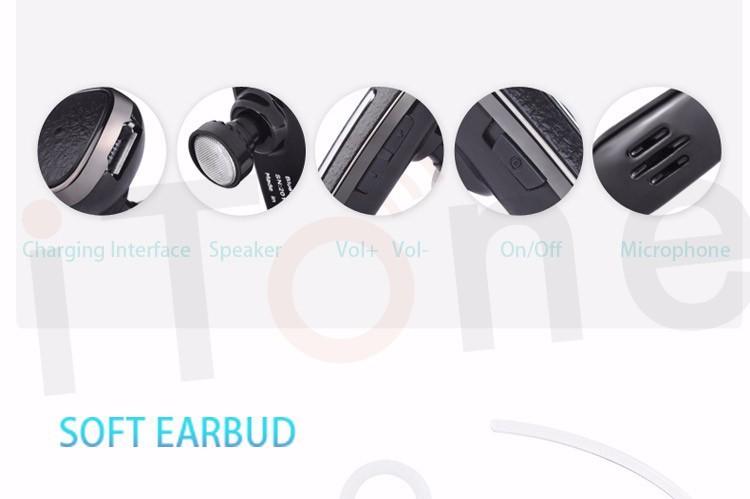 Walkie Talkie Bluetooth Headset For Baofeng PTT Earphone Micphone Cellphone USB Charging Walkie Talkie Bluetooth Headset