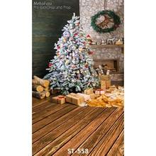 10ft Vinyl print stunning 3D Christmas house photography backdrops for family & kids photo studio portrait background ST-558(China (Mainland))