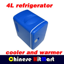 Retail 4L Car Refirgerator 12V USB Refrigerator Fridge Cooler And Warmer Fridge Small 6 Bottles For Cars And Home #J354(China (Mainland))