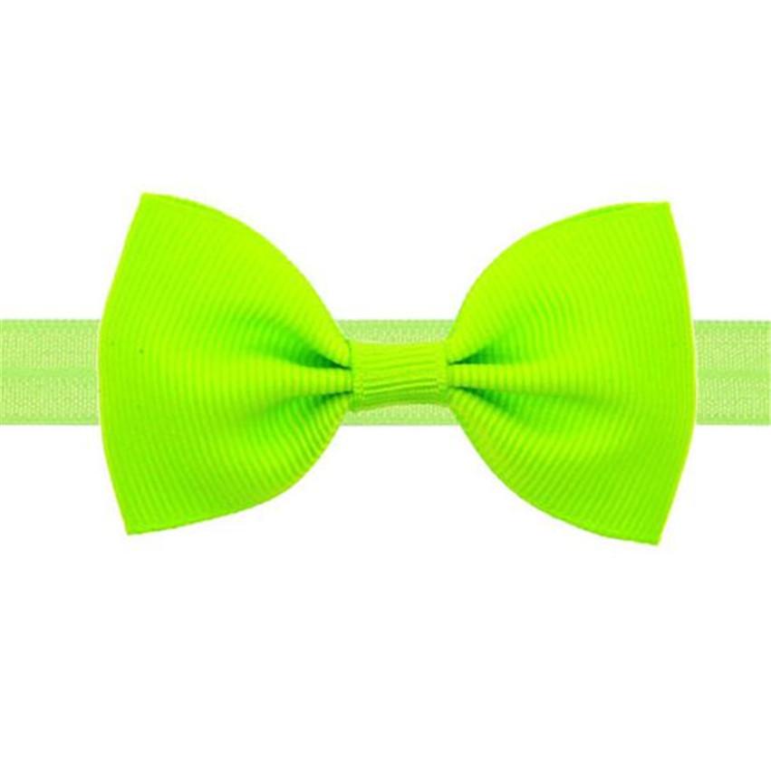 Hot Brand Kids Girls Mini Bowknot Hairband Elastic Headband