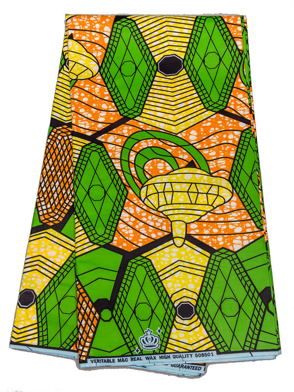 African Patterns Super Deluxe Wax Green Toy Top Lovely Girl Dressing sw508501(China (Mainland))