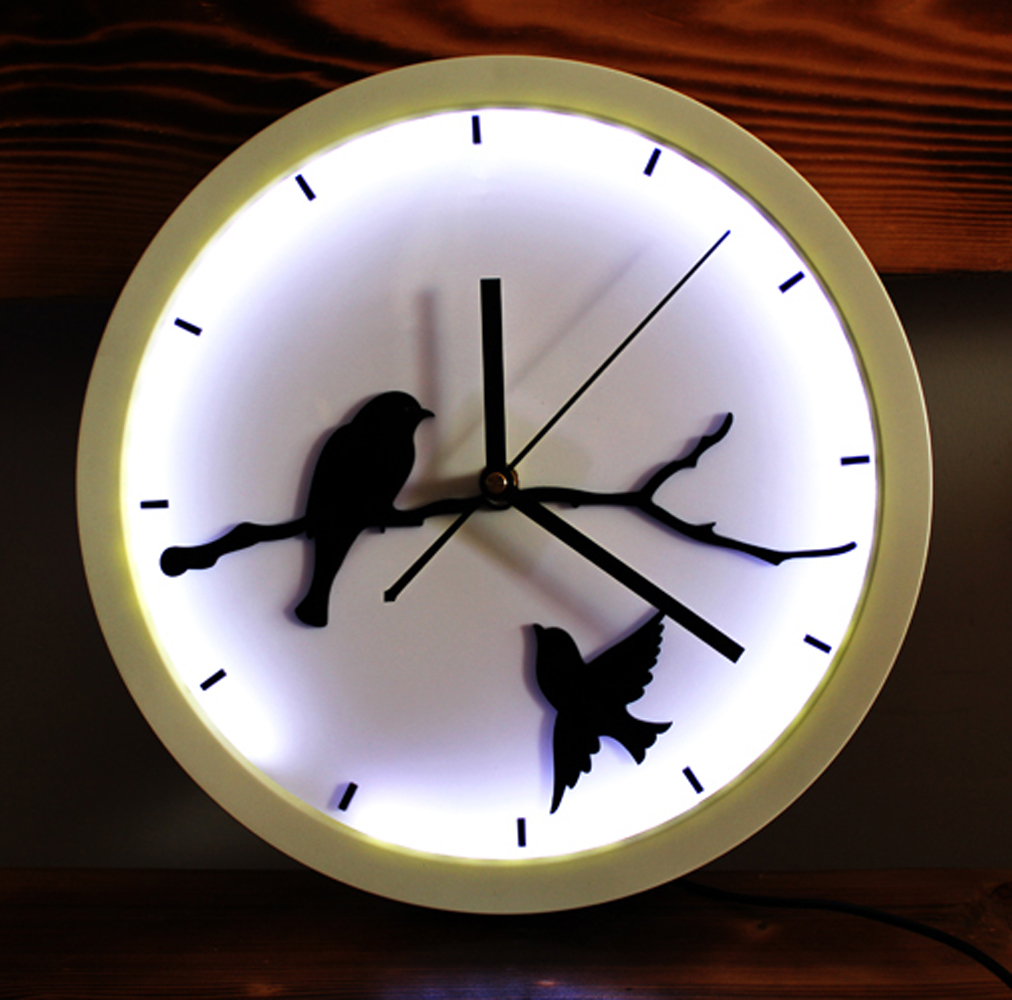 Popular Bird Wall Clock Buy Cheap Bird Wall Clock Lots From China Bird Wall C