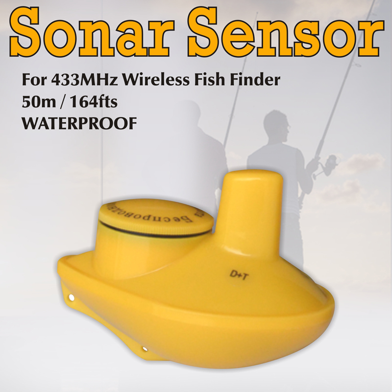 Wireless remote sonar sensor for ffw 718 lucky fish finder for Lucky fish finder