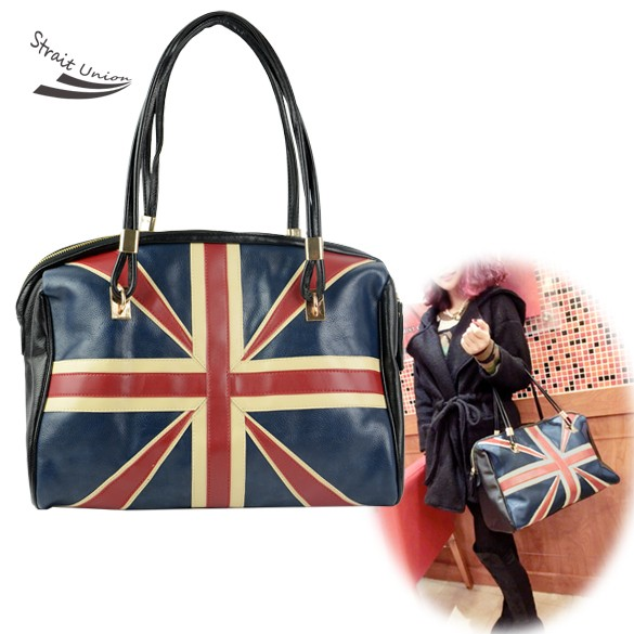 Latest Fashion womens handbags and purses Synthetic Leather England Flag Handbag Shoulder Bag Tote  F<br><br>Aliexpress