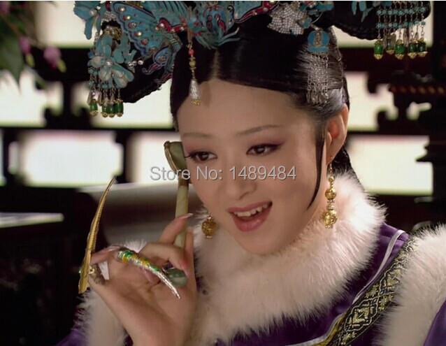 2pcs Chinese Royal Jade Roller Facial massage Neck massage Eye massage Slimming Massager -2015 New Beauty Tool(China (Mainland))