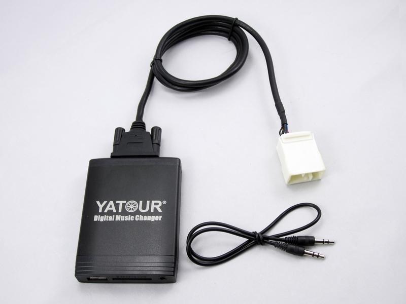 Yatour car radio USB SD AUX MP3 interface(HON2F)(China (Mainland))