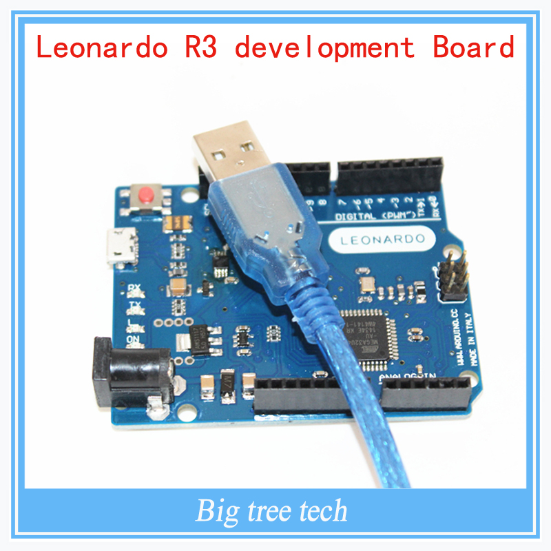 Mini usb leonardo pro atmega u au development board voor