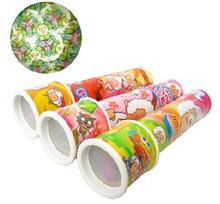 Free shipping  Large baby toy kaleidoscope Turn the colorful cartoon pattern gift(China (Mainland))