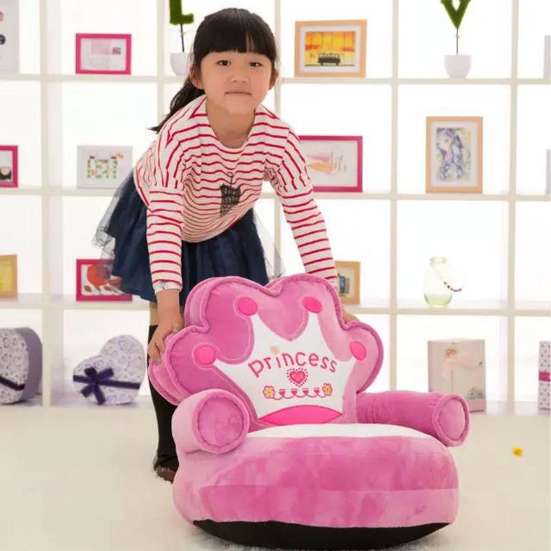 Фотография new arrival cartoon crown princess seat plush toy, about 65x50cm seat plush tatami sofa floor seat w5284