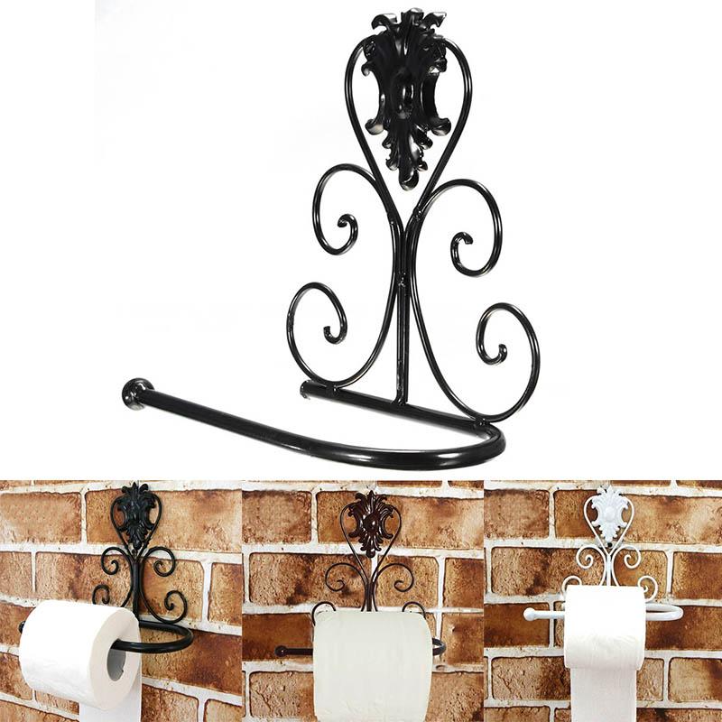 Handdoekenrek Voor Keuken : Iron Paper Towel Holder Wall Mount