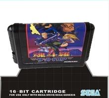 Sega 16bit MD games card: Contra (Japanese version) For 16 bit Sega MegaDrive Genesis game console