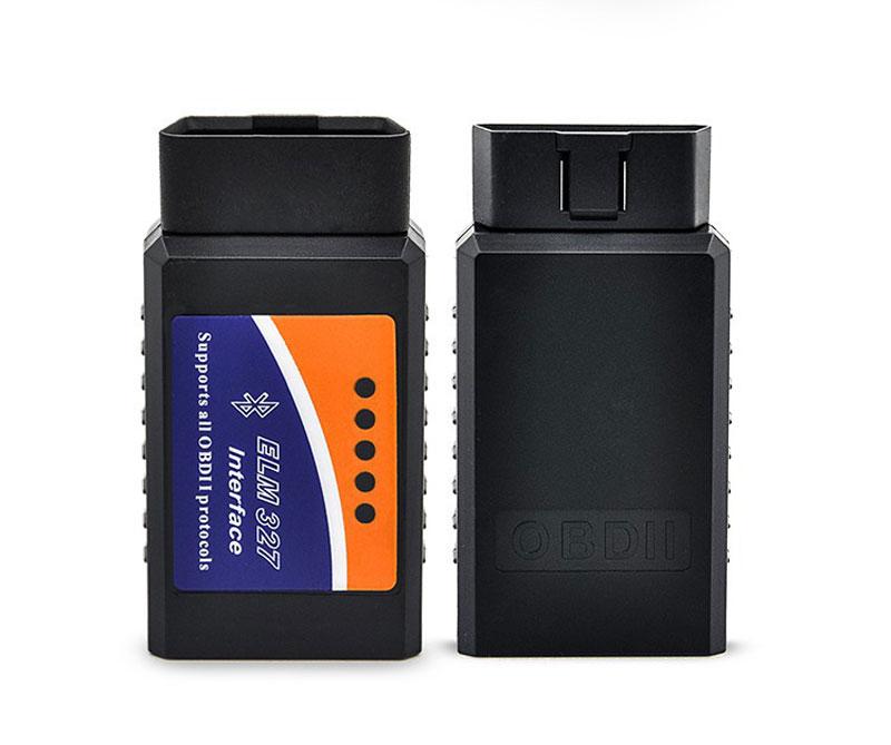 Wholesale ELM327 OBD2 V1.5 Bluetooth Car Diagnostic Tool ELM327 OBDII Auto Scanning Tools Wireless Car-Detector Diagnostic-Tool(China (Mainland))