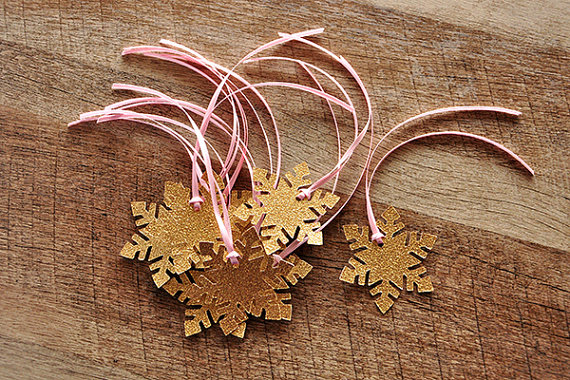 Winter Onederland snowflake Party Decorations Baby Shower gift Favor Tags Wedding Birthday Party Favors Wish Tree Tags(China (Mainland))