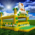 lovely tiger inflatable bouncy house jumpers houses for sale +blower (4.3mx3.6m)HIGH QUALITY bouncy castle