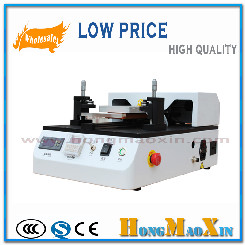 Built-in Vacuum Pump Semi Automatic LCD Separator Machine Touch Screen Repair For iPhone for Samsung(China (Mainland))