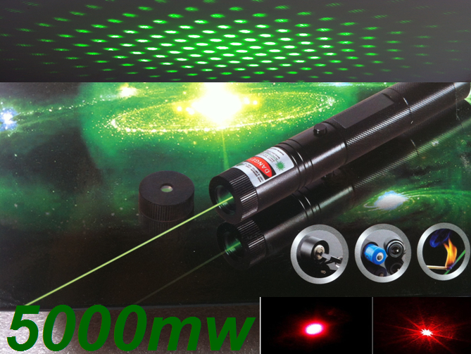 Focusable Burn Matches Strong Power Green Laser Pointer