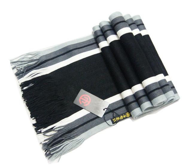 Выходной десять тысяч корейской мужской модели заклинание полосы тонкие сырье кашемир вязание шарфы оптовая продажа квартира бахромой требуется