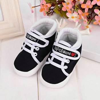 Baby Infant Kids Boy Girl Soft Sole Canvas Sneaker Toddler Newborn Shoes 0-18 M Wholesale