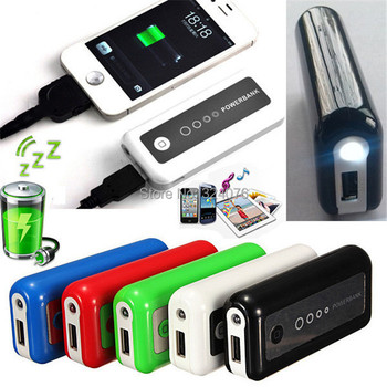 5600mAh External Backup Battery Charger Portable Mobile Power Bank For Apple For iPhone 5 5S 4 4S For Samsung S4 S3 S2 Note 3