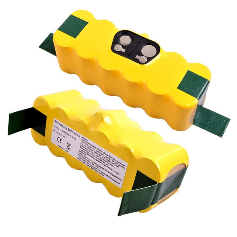 2 APS Battery For iRobot Roomba R3 500 510 530 535 550 560 570 580 610 2500mAh(China (Mainland))