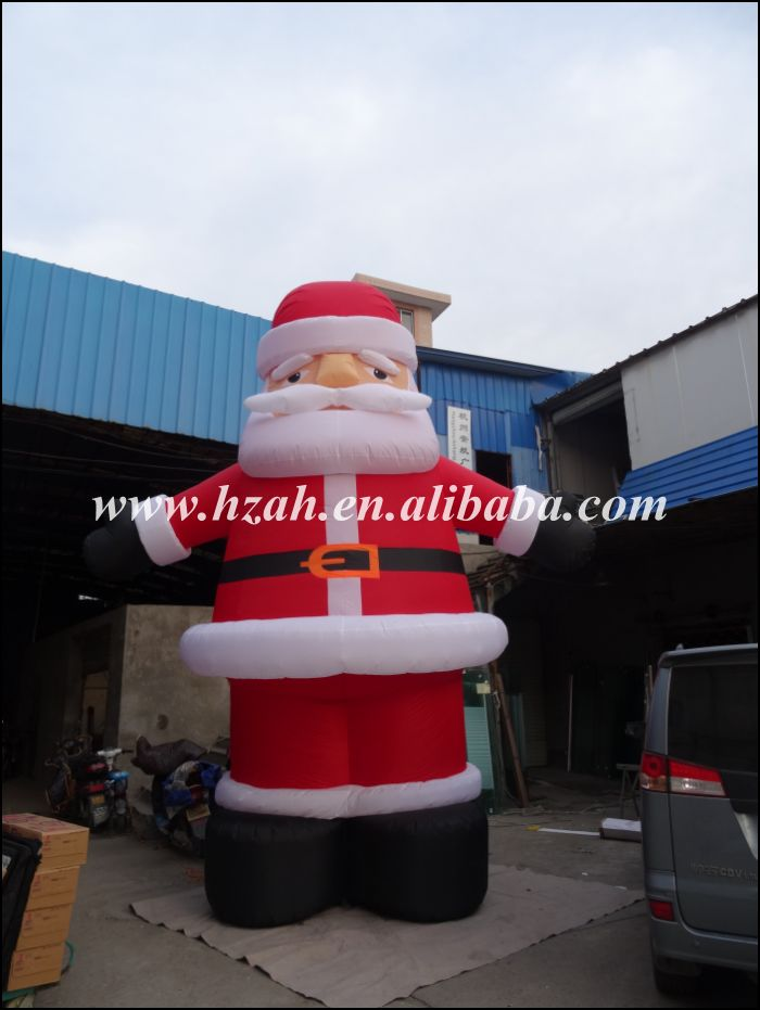 Giant Inflatable Santa Claus for Christmas Decoration(China (Mainland))