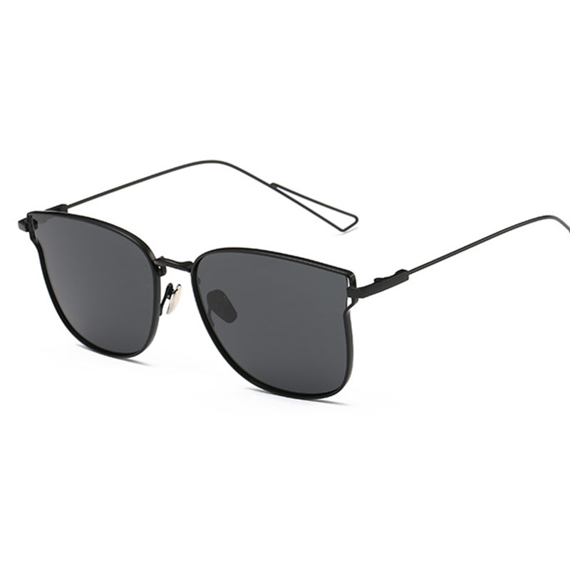 2016 Polarized Vintage Cat Eye Sunglasses Women Men Latest Retro Cateye Sun Glasses Alloy Frame Personalized Temple 0710(China (Mainland))